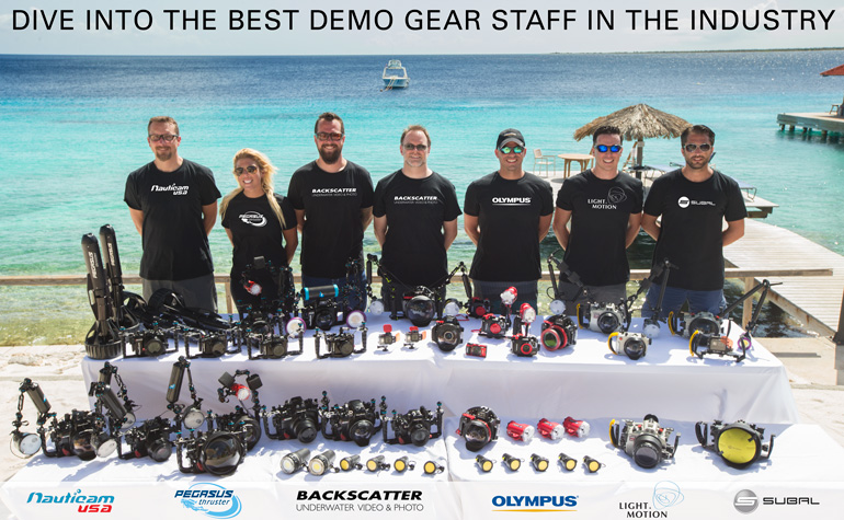 The Digital Shootout Demo Gear and Tech Support Staff