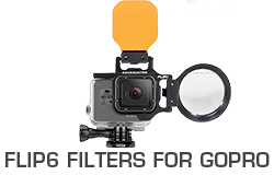 FLIP6 Underwater Filters for GoPro Hero 3, 3+, 4, 5 & 6 the Best Color Correction Filters for GoPro Review