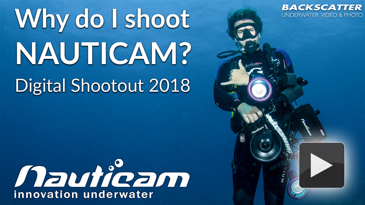 Why do I shoot a Nauticam?